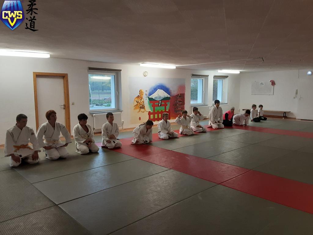 Begrüßung der Judoka des CWSV